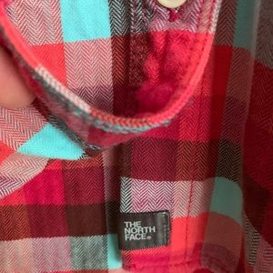 The North Face women's button down shirt